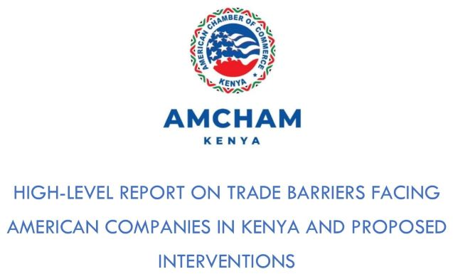 Trade Barriers Report